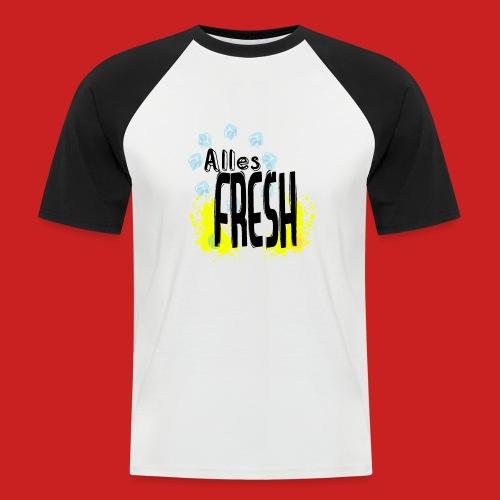 Alles Fresh / Frisch Sommer Eis - Männer Baseball-T-Shirt