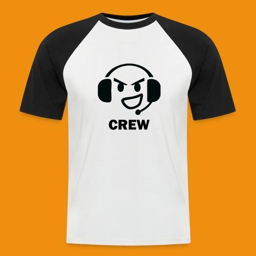 T-shirt-front - Kortærmet herre-baseballshirt