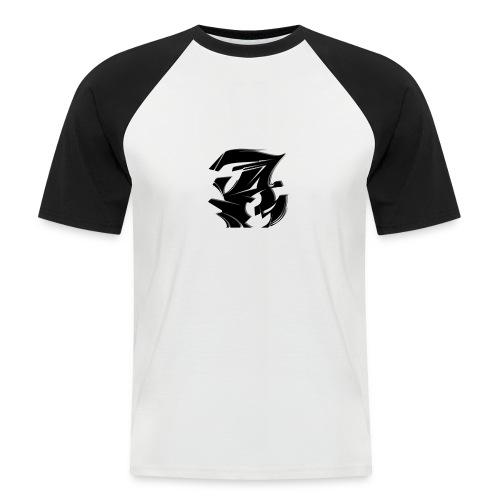 Abraham A - Männer Baseball-T-Shirt