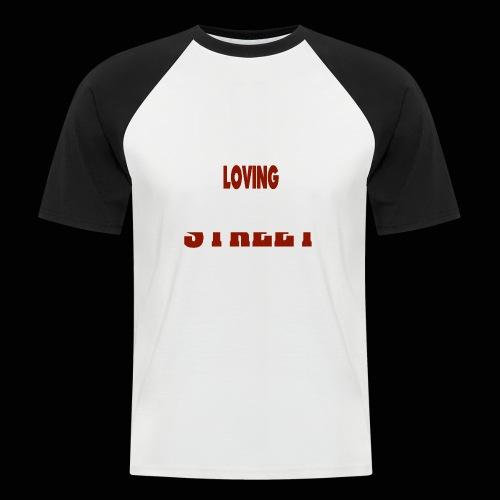 IMLOVINGTHESTREET - Kortærmet herre-baseballshirt