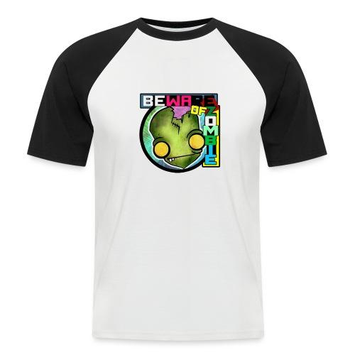Beware of zombie - Camiseta béisbol manga corta hombre