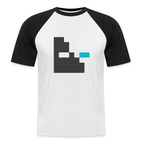 Mortu Logo - Mannen baseballshirt korte mouw