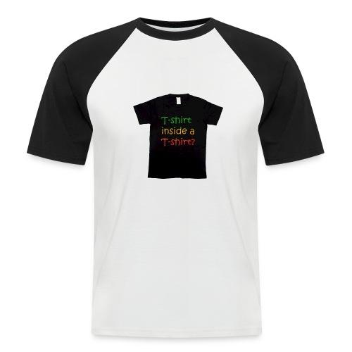 mars-one-drawing-tshirt-black - Kortærmet herre-baseballshirt