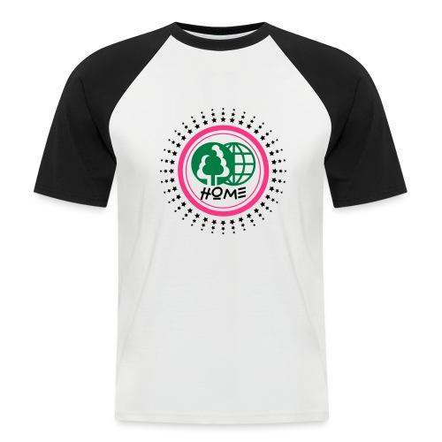 Planète home sweet home - Men's Baseball T-Shirt