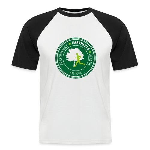 EARTHLETE Brand Logo - Kortærmet herre-baseballshirt