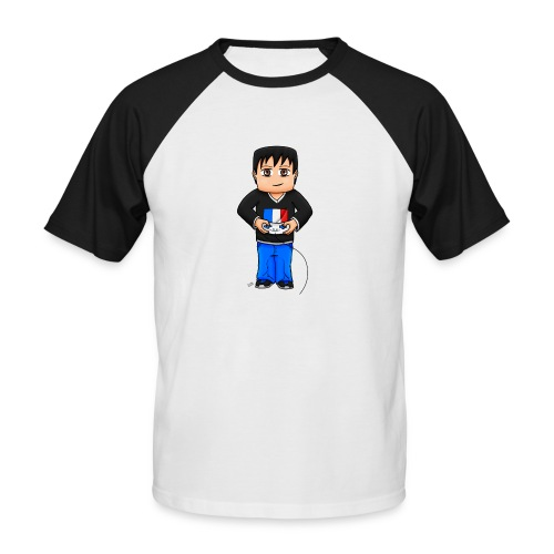 MaximeGaming - T-shirt baseball manches courtes Homme
