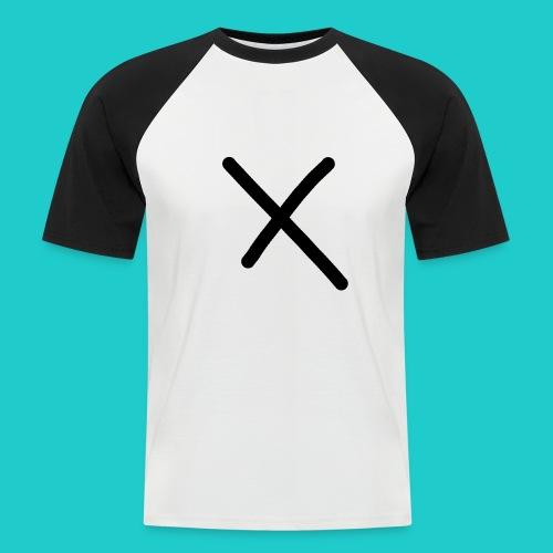 X - Männer Baseball-T-Shirt