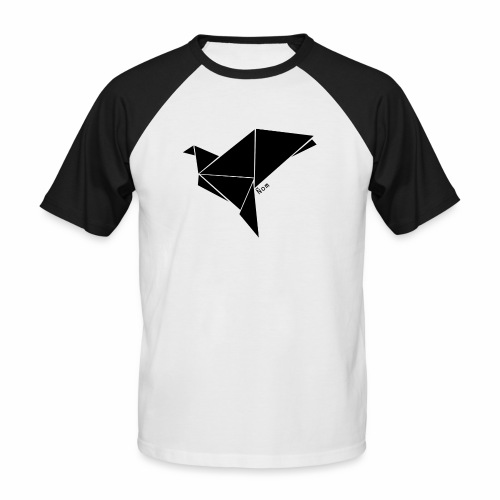 Origami - T-shirt baseball manches courtes Homme