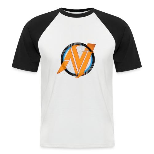 invi.rocks Logo - Männer Baseball-T-Shirt