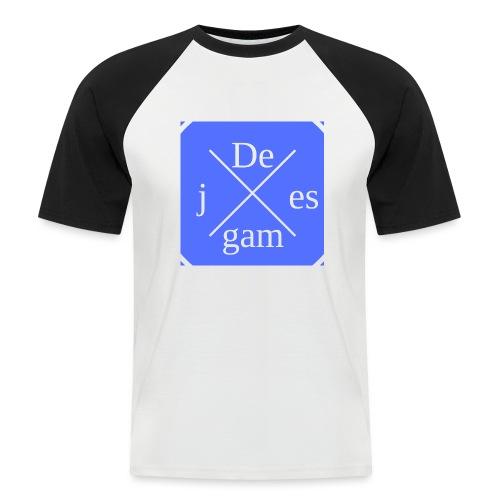 de j games kleren - Mannen baseballshirt korte mouw