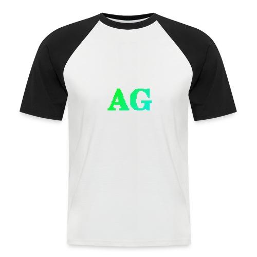 ATG Games logo - Miesten lyhythihainen baseballpaita