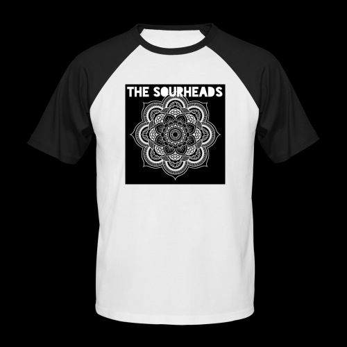 The Sourheads Mandala - Men's Baseball T-Shirt