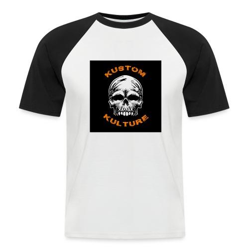 Sans Maxilaire - T-shirt baseball manches courtes Homme