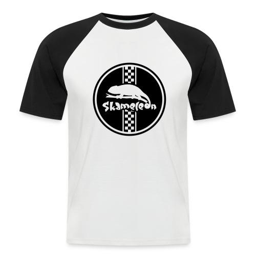 skameleon Logo - Männer Baseball-T-Shirt
