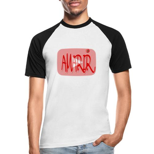 Logo youtube amarir - T-shirt baseball manches courtes Homme