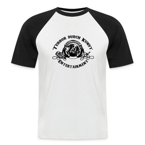 tdklogoschwarz 3 - Männer Baseball-T-Shirt