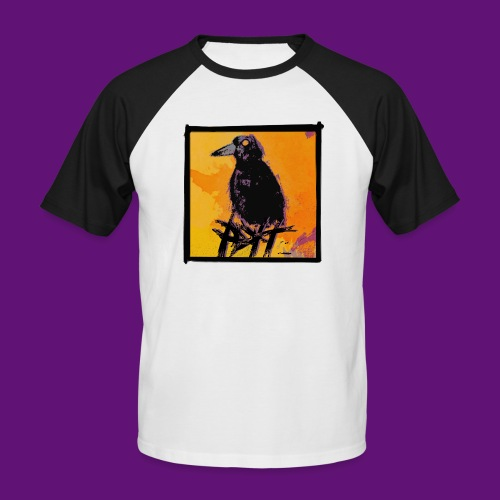 crow pop tee - T-shirt baseball manches courtes Homme
