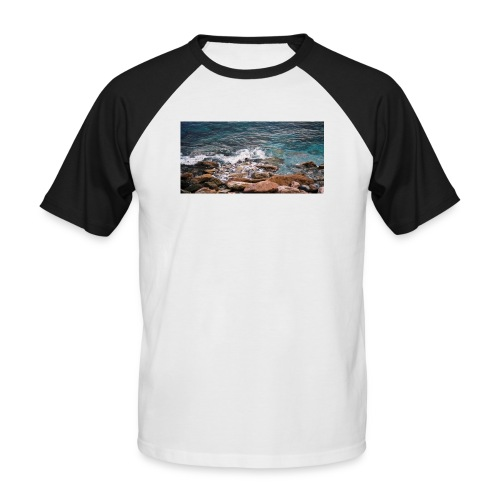 Handy Hülle Meer - Männer Baseball-T-Shirt