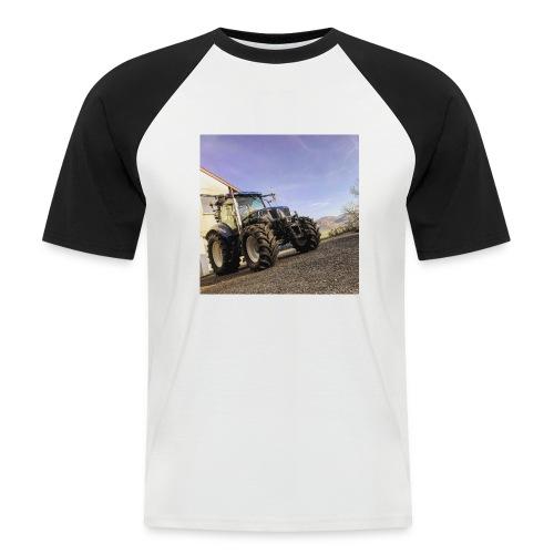 new holland t6080 - Männer Baseball-T-Shirt