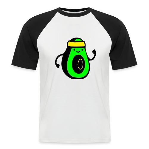 aguacate ninja - Camiseta béisbol manga corta hombre