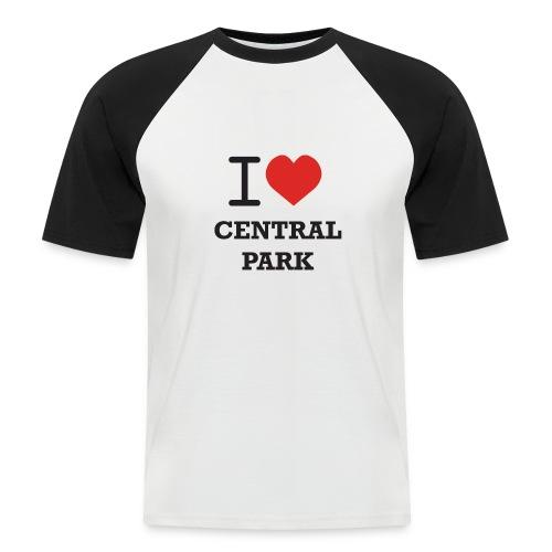 keskuspuisto - Miesten lyhythihainen baseballpaita