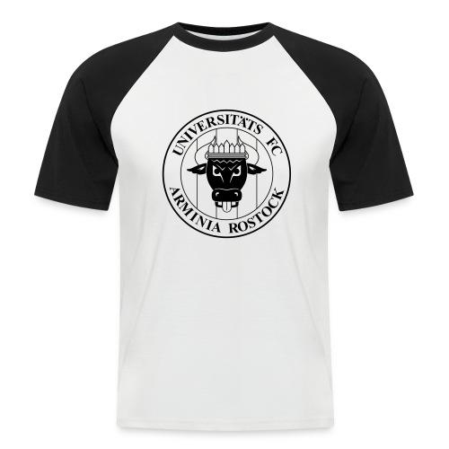 UFC Logo nur schwarz - Männer Baseball-T-Shirt