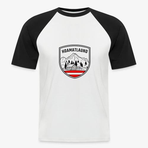 hoamatlaund österreich - Männer Baseball-T-Shirt