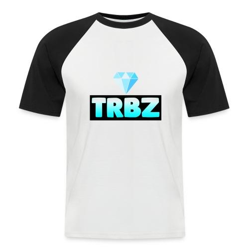 TRBZ big logo with diamond - Kortärmad basebolltröja herr