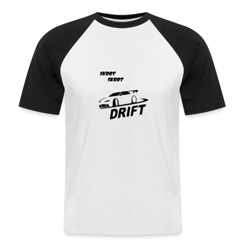 BusterVogt merch - Kortærmet herre-baseballshirt