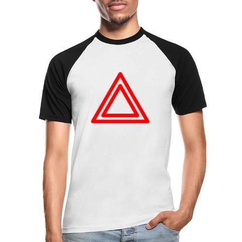 Warning - Men's Baseball T-Shirt