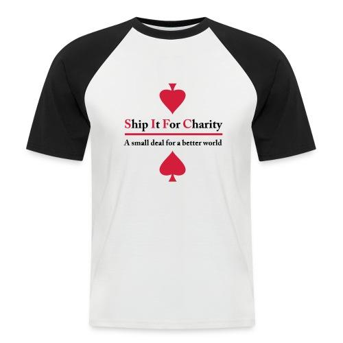 Ship It For Charity - Kortärmad basebolltröja herr