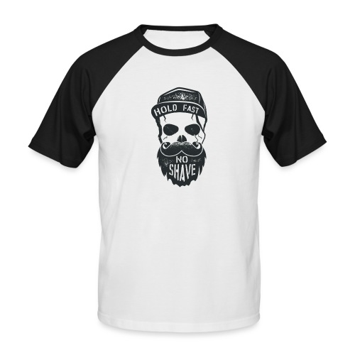No Shave - Männer Baseball-T-Shirt