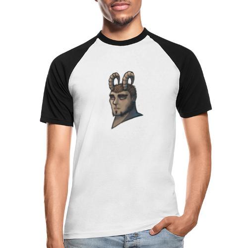 demonio - Camiseta béisbol manga corta hombre