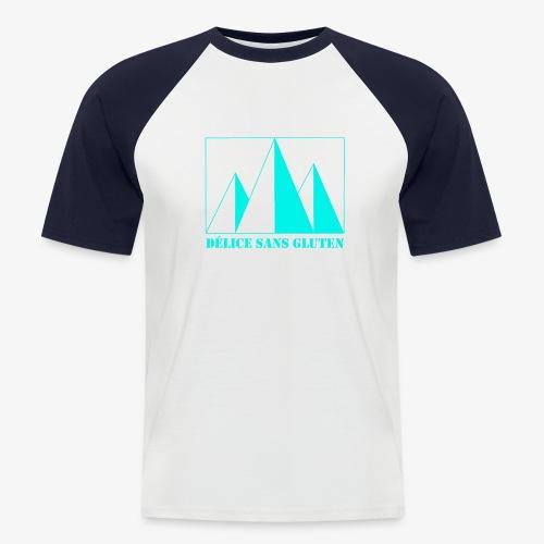 Snow Mountain ! Délice sans gluten - Men's Baseball T-Shirt
