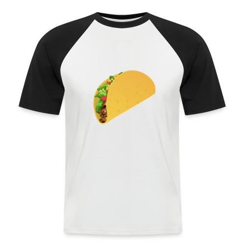 taco - Kortärmad basebolltröja herr