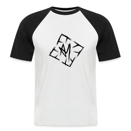 Across Yourself - Logo black transparent - Men's Baseball T-Shirt