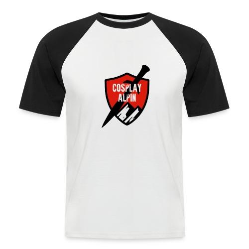 Cosplay Alpin Logo - Männer Baseball-T-Shirt