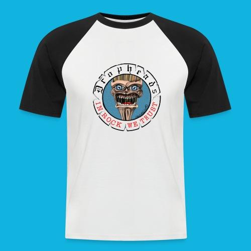 drophead aufkleber - Männer Baseball-T-Shirt