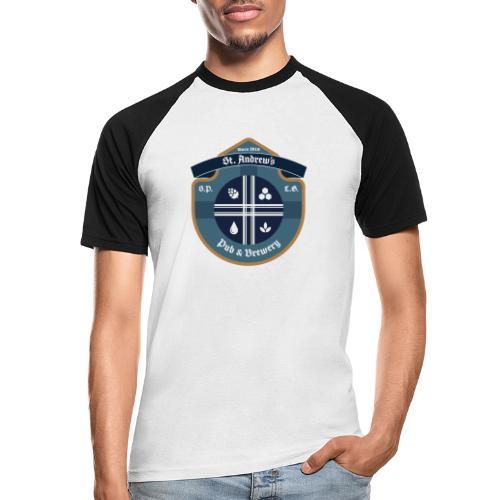 St Andrews T-Shirt - Maglia da baseball a manica corta da uomo