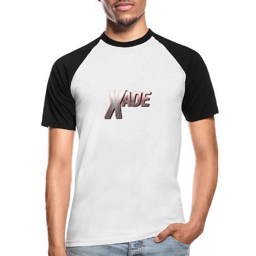 XaD3 LoGo - Männer Baseball-T-Shirt