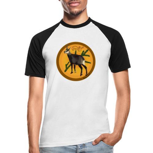 Die Gemse - Männer Baseball-T-Shirt