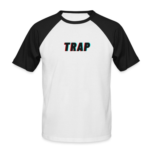 GloryGang Clothing - Trap Collection - Men's Baseball T-Shirt