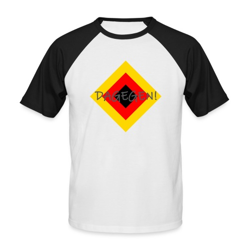 Anti-Raute - Männer Baseball-T-Shirt