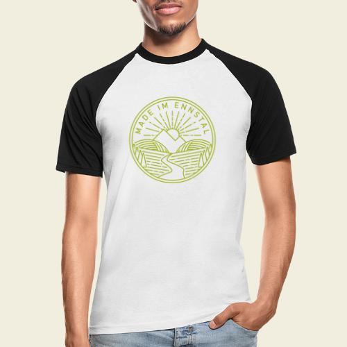Made im Ennstal, grün - Männer Baseball-T-Shirt
