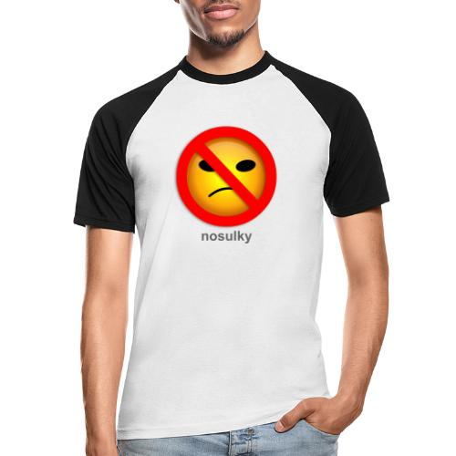 nosulky - T-shirt baseball manches courtes Homme