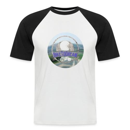BikeToDream - T-shirt baseball manches courtes Homme