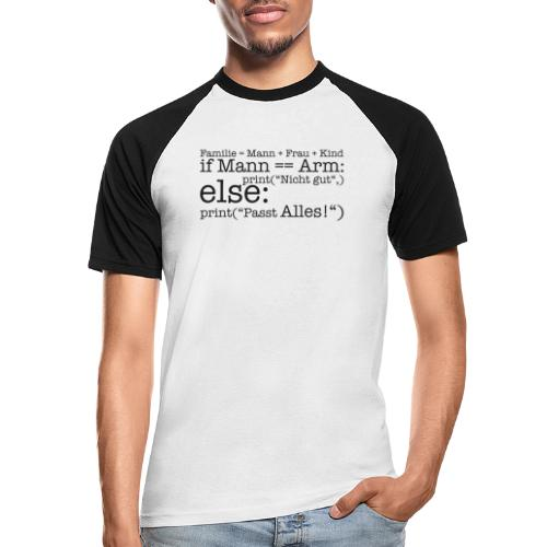 Programmierer Shirt Familie - Männer Baseball-T-Shirt