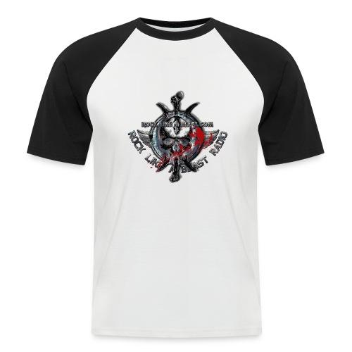 Blood Skull Logo - Kortärmad basebolltröja herr