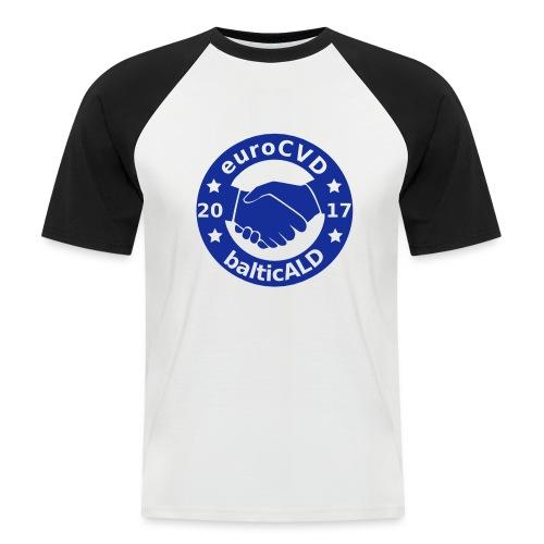 Joint EuroCVD - BalticALD conference mens t-shirt - Men's Baseball T-Shirt