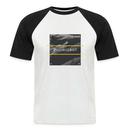 MeinGebiet - Männer Baseball-T-Shirt